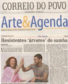 #DiogoNogueira 2009 - Correio do Povo