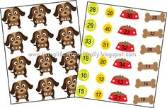 FREE Doggy Addition Math Game - This is such a cute file folder game that will help kinds in Kindergarten, 1st grade, and 2nd grade practice addition. Perfect for homeschool kids too.