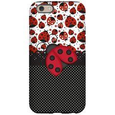 Pawn Ladybugs iPhone 6/6s Tough Case on CafePress.com
