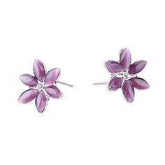 Find More Stud Earrings Information about 2017 Hot Sale Trendy Beautiful Clover Flower Rhinestone Crystal Stud Earrings for Women Jewelry purple Earrings set pendientes,High Quality crystal stopper,China earring stand Suppliers, Cheap crystal earring set from Yiwu zenper accessories crafts co.,ltd  on Aliexpress.com
