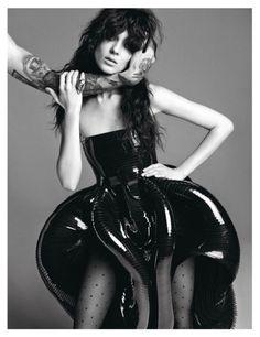 Vogue Paris, November 2012, Un Songe En Hiver, Haute Couture Wedding Gowns