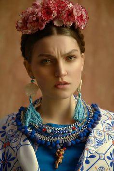 FRIDA IS YOUR INSPIRATION BLOG. Frida Kahlo EDITORIAL REALOADED