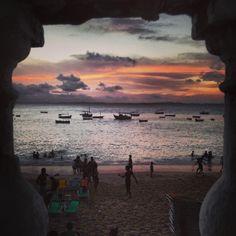 Sunset, Porto da Barra Beach
