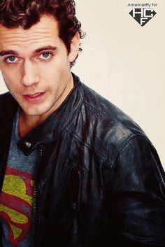 Henry Cavill....the new Superman...(faint now)