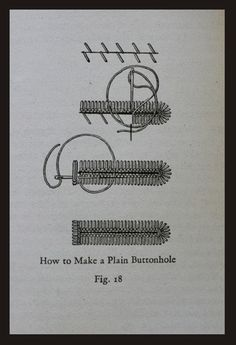 How to Make Hand-Sewn Buttonholes