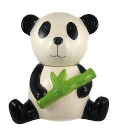 Adorable Panda Bear Ceramic Cookie Jar by Things2Die4, http://www.amazon.com/dp/B005CWUXDK/ref=cm_sw_r_pi_dp_HVznqb0Y3KYSX