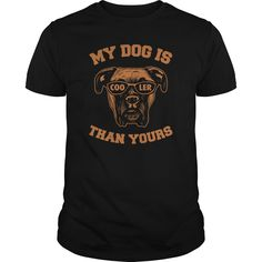 My Boxer Is Cooler Than Yours T-Shirts, Hoodies. Get It Now ==► https://www.sunfrog.com/Pets/My-Boxer-Is-Cooler-Than-Yours-Black-Guys.html?id=41382