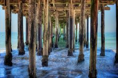 Santa Cruz, Ca Under the boardwalk, down by the sea, on a blanket with my baby is where I will be...