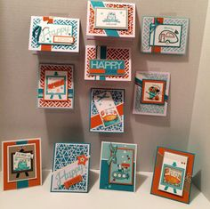 May 2016 Paper Pumpkin, Stampin' Up!, Many Manly Occasions, redesigned by Kris Dickinson