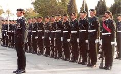 The 1st Battalion the Rhodesian Light Infantry on its last RLI parade