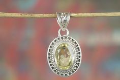 Citrine Gemstone Silver Jewelry Rarity Gemstone Crystal Gemstone Unique Elegant pendant Inspirational Gemstone Statement Pendant Note It is a Natural Gemstone Citrine Pendant, Citrine Gemstone, Bohemian, Pendant Necklace, Gemstones, Sterling Silver, Trending Outfits, Diamond, Unique Jewelry