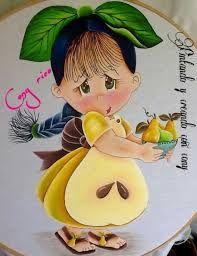 Resultado de imagem para imagenes para imprimir de niñas en color pintura textil
