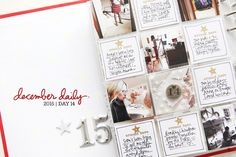December Daily® 2015 | Day Fourteen