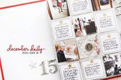 December Daily® 2015   Day Fourteen