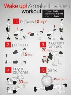 Morning Workout for beginners