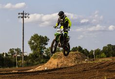 https://flic.kr/p/xZQZPc | Cleared the Jump | Motocross racing at the Oklahoma Motorsports Complex in Norman, Oklahoma.