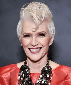 Covergirl Model Maye Musk Shares Ageing Advice