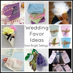 DIY wedding favor ideas -- get tons of ideas to make your own wedding favors. Wedding Favours Luxury, Honey Wedding Favors, Homemade Wedding Favors, Vintage Wedding Favors, Winter Wedding Favors, Unique Wedding Favors, Wedding Crafts, Diy Wedding, Wedding Themes