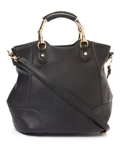 Another great find on #zulily! MKF Collection Black Carnia Shoulder Bag by MKF Collection #zulilyfinds