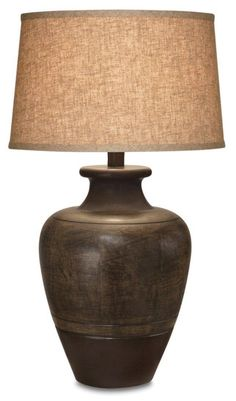 Craftsman Table Lamps, Rustic Table Lamps, Table Lamp Sets, Ceramic Table Lamps, Rustic Decor, Living Room End Tables, Living Rooms, Ceramic Texture, Drum Shade