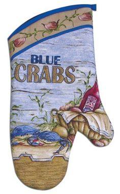 Kay Dee Designs Cotton Oven Mitt, 13-Inch, Blue Crabs by Kay Dee, http://www.amazon.com/dp/B003527Q70/ref=cm_sw_r_pi_dp_B73Prb1A3XWP3