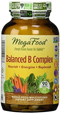 Megafood - Balanced B Complex, 90 tablets - http://vitamins-minerals-supplements.co.uk/product/megafood-balanced-b-complex-90-tablets/