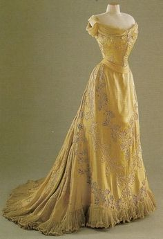 yellow gown worth gown
