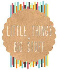 little things + big stuff  great posts about the whys and hows of adoptiong