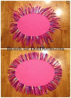 Easy and Colorful RUG for Your Dolls — Doll Diaries