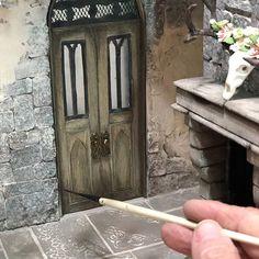 #dollhouse #dollhouseminiatures #miniatures #dollhousedoor #miniaturedoor #cottagedoor #tinydoor