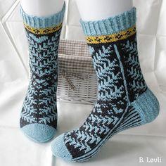 Ravelry: Barlind sokker pattern by StrikkeBea