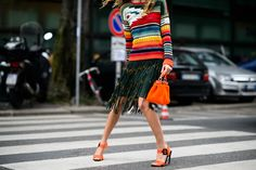 On the Streets of Milan Fashion Week Spring 2015 - Milan Fashion Week Spring 2015 Day 2