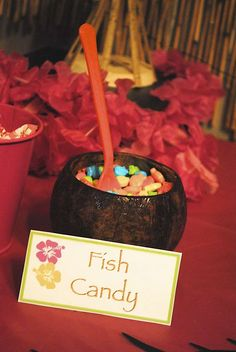 Hawaiian Luau Birthday Party Ideas   Photo 19 of 23   Catch My Party