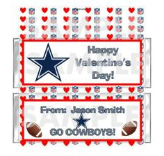 DALLAS COWBOYS VALENTINE'S DAY! Showin' the love for the team!!