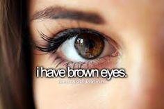 Reaally dark eyes