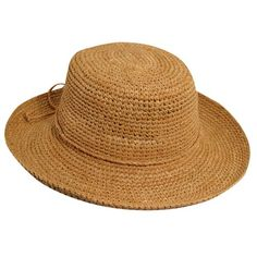 c7656a2baef93d Cross country - Scala L551OS Tea Packable/Crushable Raffia Straw Bucket Hat
