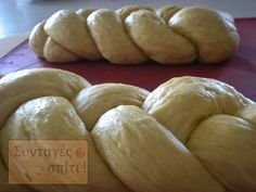 Greek Sweets, Greek Desserts, Sweet Buns, Sweet Pie, Greek Easter, Greek Cooking, Bread Cake, Easter Recipes, Bread Recipes