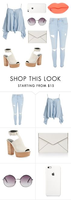 """""""Sin título #142"""" by amparo2152 ❤ liked on Polyvore featuring River Island, Sans Souci, Rebecca Minkoff, Monki and STELLA McCARTNEY"""