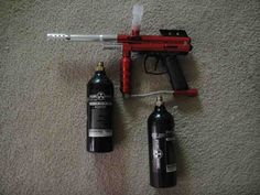 Spyder Compact Paintball Gun