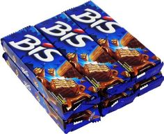 Lacta - Bis - Chocolate Wafer - Box w/ 20 Units - 4.9oz (PACK OF 06) | Chocolate ao Leite - Caixa c/ 20 unidades - 140g by Lacta -- Awesome products selected by Anna Churchill