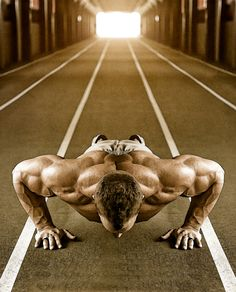Chapter 3 talks about gender binary. In the picture you see that the man is doing push ups which is confirming his masculinity. The masculine theory states men are strong, provides and is the head of the household.