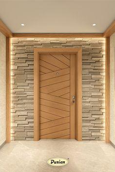 Main Entrance Door Design, Wooden Main Door Design, Home Entrance Decor, Room Door Design, Door Design Interior, Cornice Design, Balcony Grill Design, Modern Wooden Doors, Veneer Door