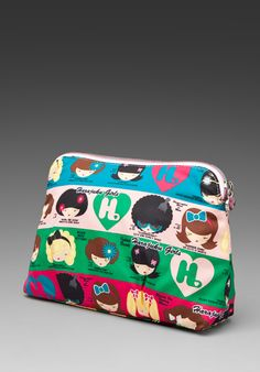 Harajuku lovers Cherry Bomb Cosmetic Case - the one I have is almost like it!