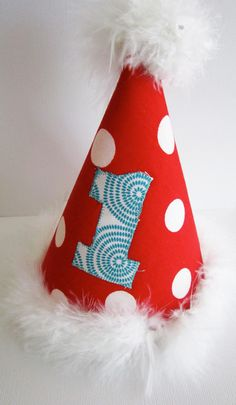 Dr. Seuss Inspired Party Hat Version 2. $22.00, via Etsy.