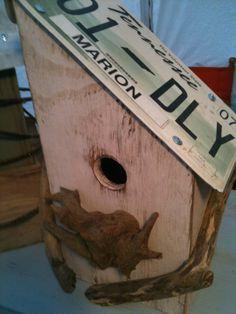 Junk-a-new Birdhouses