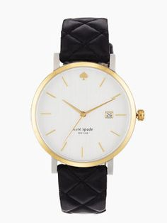 metro grand by kate spade new york | our spirited metro watch is designed to take you uptown, downtown and everywhere in between with a festive spirit.