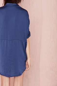 The Big Easy Satin Top