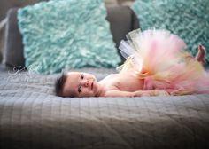 in home photography baby girl, bedroom newborn KLR Photo Memories