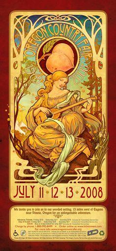 oregon-country-fair-2008-poster