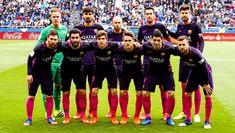 Equipos de fútbol: BARCELONA contra Deportivo de La Coruña 12/03/2017